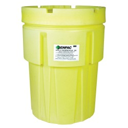 Enpac - 1037-YE - 95 gal. Yellow Polyethylene Open Head Salvage Drum