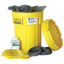 Enpac - 13-30-U-PI - Chemical, Hazmat Spill Kit, 30 gal. Drum