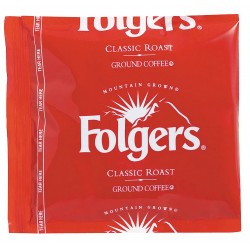 Folgers - 2550006433 - Decaffeinated Coffee, 1.50 oz., Package Quantity 42