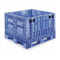 Buckhorn / Myers Industries - BG4840332063002 - Collapsible Bulk Container, Blue, 33H x 48L x 40W, 1EA
