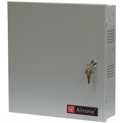 Altronix - BC300 - Steel Enclosure Lg Fits 2- 7Ah Battery with Gray Finish
