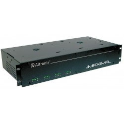 Altronix - MAXIMAL1RD - Altronix - MAXIMAL1RD Maxim rack mount power supply 16 PTC outputs, each selectable for 12VDC @ 4A or 24VDC @ 3A, selectable for fail-safe, fail-secure or form C, fire alarm disconnect, AC & Battery monitoring, 115VAC input