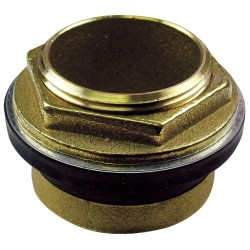 American Standard - 047007-0070A - Brass and Rubber Inlet Spud, Brass, For Use With Toilets, For Use With Grainger Item Number 5NTV8, 3