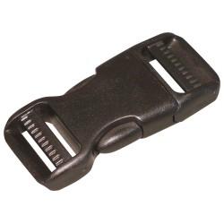 Bulk-Strap - B1 - Side Squeeze Buckle, 1 In., Plastic, PK10