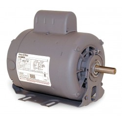 A.O. Smith - B589 - 1 HP Belt Drive Motor, Capacitor-Start, 3450 Nameplate RPM, 115/208-230 Voltage, Frame 56