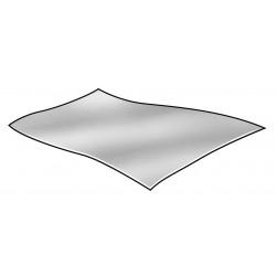 Other - 4UGH7 - Soft Temper Foil Sheet, 1100, 0.0006 Thickness, 10-3/4 Width, 12 Length