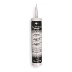 Momentive - RTV102 - One Part Acetoxy Cure RTV Silicone Adhesive, (White, High Performance, 2.8 oz Cartridge) (MOQ=12)