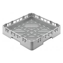 Cambro - CAFR258151 - 19-3/4 x 19-3/4 x 2-5/8 Flatware Rack, Gray