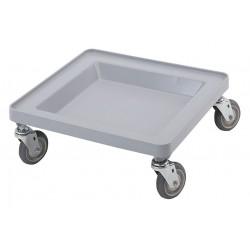 Cambro - EACDR2020151 - 21-3/8 x 21-3/8 x 8 Dish Rack Dolly, Gray