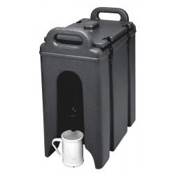 Cambro - EA250LCD110 - 2.5 gal. Beverage Dispenser, Black