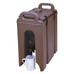 Cambro - EA250LCD131 - 2.5 gal. Beverage Dispenser, Dark Brown