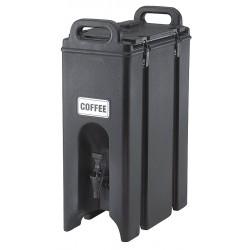 Cambro - EA500LCD131 - 4.75 gal. Beverage Dispenser, Dark Brown