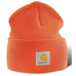 Carhartt - A18 BOG OFA - Knit Cap, Bright Orange, Universal