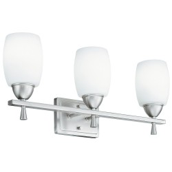 Acuity Brands Lighting - 11533 BN M2 - Light Fixture, 39W, 120V, Brushed Nickel