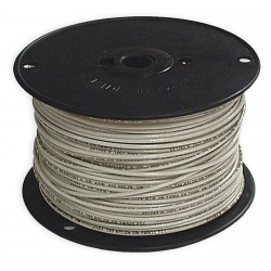 Southwire - 11580801 - 500 ft. Solid Building Wire with THHN Wire Type and 14 AWG Wire Size, White