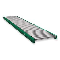 Ashland Conveyor - 10F10KG03B16 - Roller Conveyor, 10 ft. L, 16BF