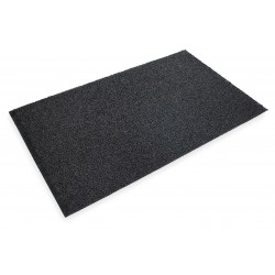 "3M - 29466 - 3M Anti-Slip Entryway Heavy Traffic Scraper Mat, 3'W x 5'L x 3/4""Thick, Black , EA"