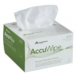 Georgia Pacific - 29712 - AccuWipe Delicate Task Wipers - For Precision Part, Instrument, Lens - Absorbent, Soft, Non-abrasive, Disposable, Streak-free - Fiber - 280 / Box - White