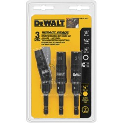 Dewalt - DWPVTDRV3 - 3pc Magnetic Impact Ready Pivoting Nutdriver Set