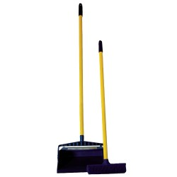 Novus Products - SB9SET - Rubber Broom Set, Overall Length 39, Overall Width 12