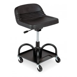 Whiteside - HRAS - 16 x 18-1/2 Mechanic Seat with 4 Wheels and 480 lb. Load Capacity