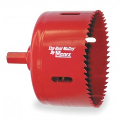 "M.K. Morse - TA25 - 1-9/16"" Hole Saw W/built-in Arbor"