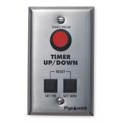 Pyramid Technologies - CTPLATEKIT - Digital Timer Controller, Wall Mount, Rectangle, 110VAC
