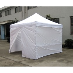 Other - 4XMA6 - White Shelter, 9 ft. 8.5 Length, 10 ft. Width, 10 ft. 4 to 11 ft. 5 Center Height