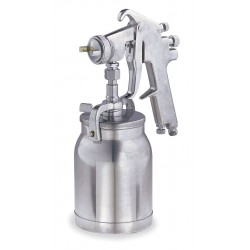Speedaire - 4XP63 - Siphon Spray Gun, 0.063In/1.6mm