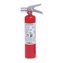 Kidde Fire and Safety - PROPLUS2.5HM - Halotron Fire Extinguisher with 2.5 lb. Capacity and 9 sec. Discharge Time