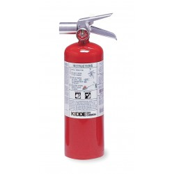 Kidde Fire and Safety - PROPLUS5HM - Halotron Fire Extinguisher with 5 lb. Capacity and 9 sec. Discharge Time