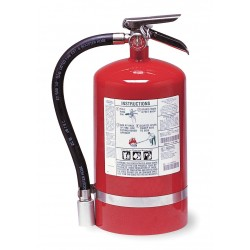 Kidde Fire and Safety - PROPLUS11HM - Halotron Fire Extinguisher with 11 lb. Capacity and 11 sec. Discharge Time