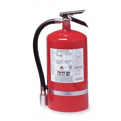 Kidde Fire and Safety - PROPLUS15.5HM - Halotron Fire Extinguisher with 15.5 lb. Capacity and 14 sec. Discharge Time