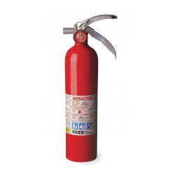 Kidde Fire and Safety - PROPLUS2.5 - Dry Chemical Fire Extinguisher with 2.5 lb. Capacity and 8 to 12 sec. Discharge Time