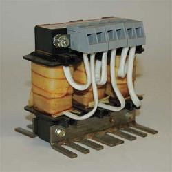 TCI (Trans-Coil International) - KDRULA27L - Open Enclosure, Low Z Input Line Reactor, 208/240 Input Voltage, 7.5 Max. Output Amps