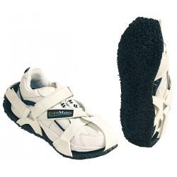 Ergos - G88903W - Antifatigue Soles, Men's Size 5 to 7, Black/White