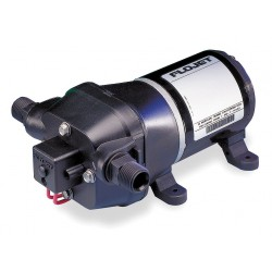 Flojet / Xylem - 04405143S - Quad Chamber Diaphragm Water System Pump, Voltage: 12VDC, Polypropylene