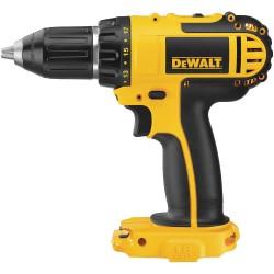 "Dewalt - DCD760B - Dewalt 18V 1/2"" (13mm) Cordless Compact Drill/Driver (Tool Only) - Driver Drill - 0.50"" Chuck"