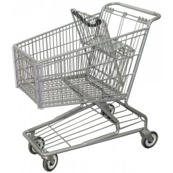 Other - RWR-PRE-172W - 32-3/4L x 22-5/8W x 36-3/4H Wire Shopping Cart, 600 lb. Load Capacity