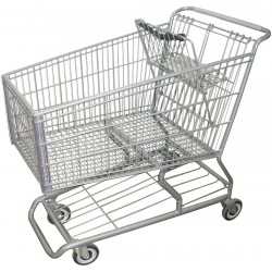 Other - RWR-PRE-490W - 42L x 25W x 40-1/2H Wire Shopping Cart, 500 lb. Load Capacity