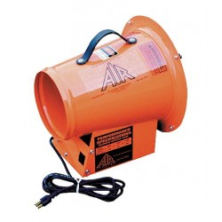 Air Systems - SVF-8AC - Axial Confined Space Fan, 1/3 HP, 115VAC Voltage
