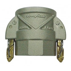 Continental Commercial - 20139451 - Aluminum Coupler with Locking Arms, Coupling Type D, Female Coupler x FNPT Connection Type