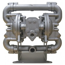 Sandpiper / Warren Rupp - HDF1 DB2A - Aluminum Buna Single Double Diaphragm Pump, 70 gpm, 125 psi