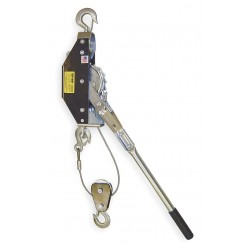 Tuf-Tug - TT25/50-20CDC - Ratchet Puller, 1250/2500 lb. Lifting Capacity, 20/10 ft. Cable Length