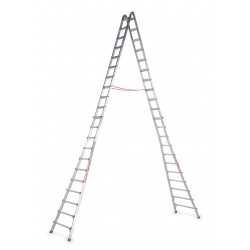 Little Giant - 10110 - 9 to 17 ft. 300 lb. Load Capacity Aluminum Telescoping Step Ladder