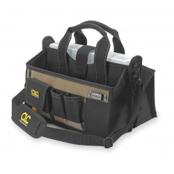 CLC (Custom Leather Craft) - 1529 - CLC Carrying Case for Tools - Handle, Shoulder Strap - 9 Height x 16 Width x 9 Depth