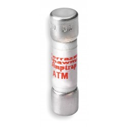 Mersen - ATM1/10 - Ferraz ATM1/10 Fuse, 1/10A, 600V AC/DC, Midget, Fast Acting, 100kAIC