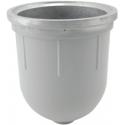 Baldwin Filters - 100-21AL - Aluminum Bowl