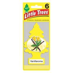 Car Freshener - U6P-10105 - Vanilla Scented Air Freshener, Yellow; PK6