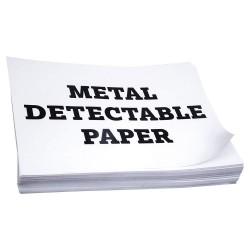 Detectamet - 251-S514-P06-X06 - 8-1/2 x 11 Paper with Matte Finish, White; PK25